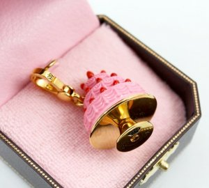 Juicy Couture Tiered Cake Charm