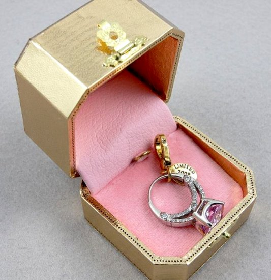 Juicy Couture 2008 Limited Edition Purple Ring Charm