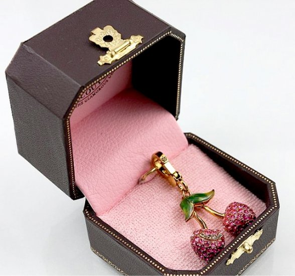 Juicy Couture Cherries Charm Pendant