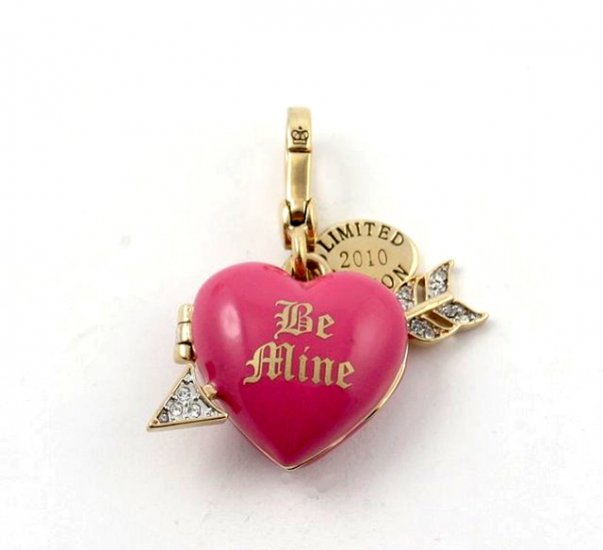 Juicy Couture 2010 Limited Edition Cupid Be Mine Heart Charm