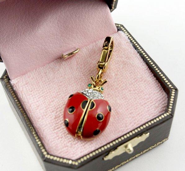 Juicy Couture Ladybug Charm
