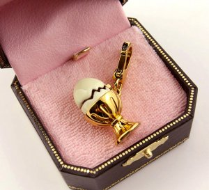 Juicy Couture Egg Charm