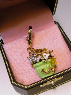 Juicy Couture Flower Basket Charm