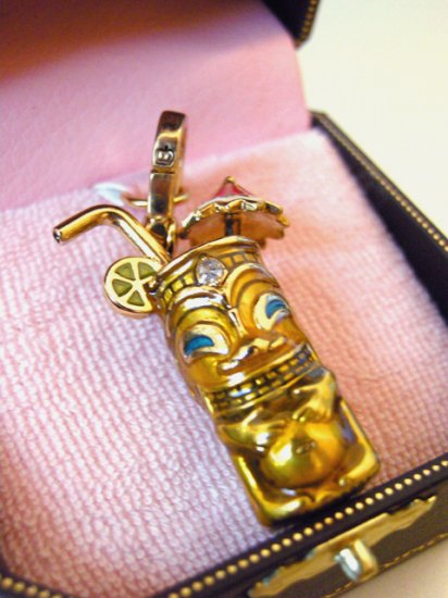Juicy Couture Tiki Drink Charm