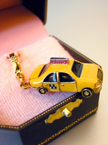 Juicy Couture Taxicab Charm (Retired)