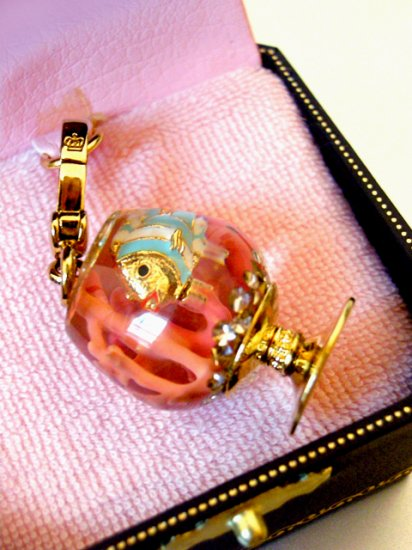 Juicy Couture Fish Bowl Coral Reef Charm (Rare)