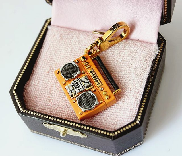 Juicy Couture Boombox Charm (Rare)