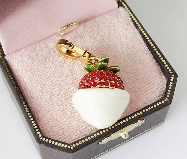 Juicy Couture Strawberry and Cream Charm