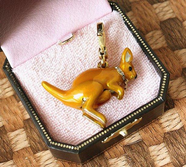 Juicy Couture Kangaroo Charm