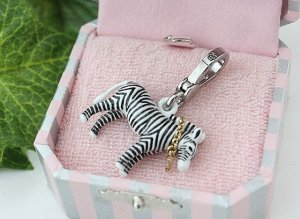 Juicy Couture Zebra Charm (Pre-release)