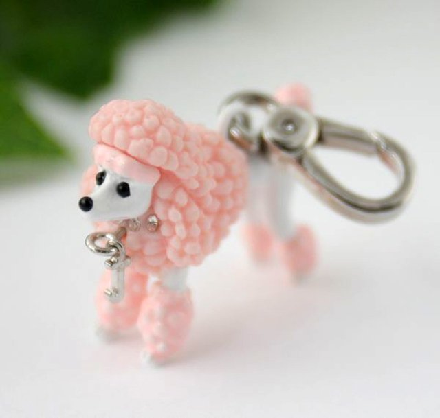 Juicy Couture Pink Poodle Charm