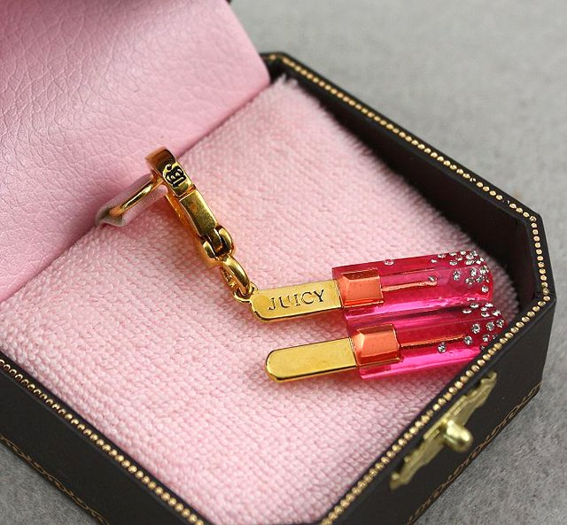 Juicy Couture Pave Popsicle Charm
