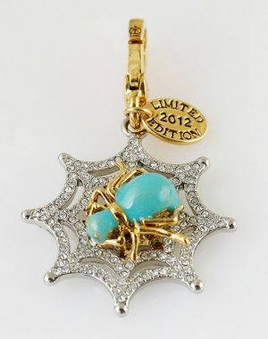 Juicy Couture 2012 Limited Edition Pave Web Charm