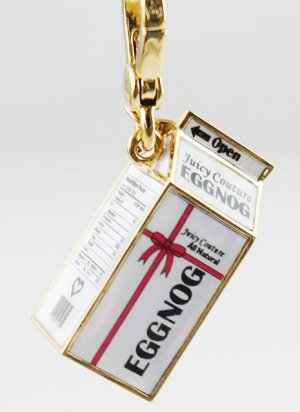 Juicy Couture 2012 Limited Edition Egg Nog Charm Pendant