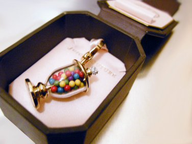 Juicy Couture Cup of Bubble Gums Charm Pendant (Pre-released)