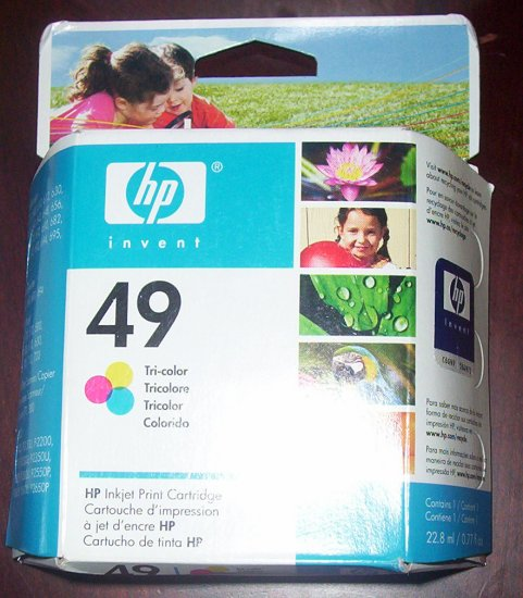 Hewlett-Packard HP 49 Color Ink