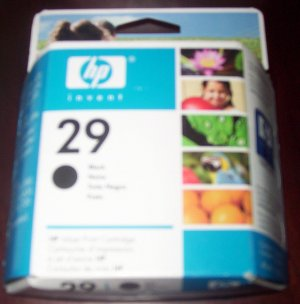 Hewlett-Packard HP 29 Black Ink