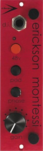 A-Designs 500-Red Microphone Preamplifier