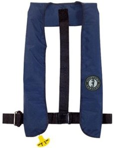 Mustang Inflatable Collar PFD: Universal Size:  XL