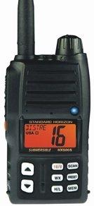 Standard Horizon HX500S-LI Handheld VHF Radio - Black