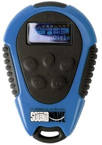 Freestyle Audio 2GB Waterproof MP3 Player w/ Screen NEW - Blue