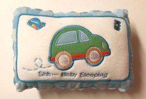 Baby Boy Pillow Door Hanger