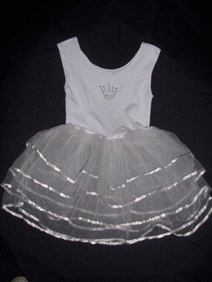 Girls Fairy Dress-White