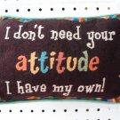 Pillow-Attitude