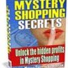Mystery Shopping Secrets (ebook-CD)