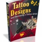Tattoo Designs & Becoming a Tattoo Artist (ebook-CD)