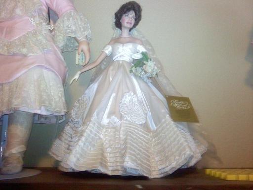 Jackie O Kennedy porcelain Doll