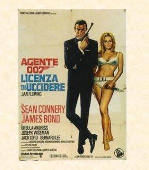 007 Licenza di Uccidere - 1963 (Manifesto originale) / �.24,90