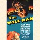 L'Uomo Lupo - The Wolf Man, 1941 (Locandina) / €.14,90