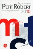 The new Petit Robert 2010
