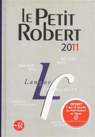 The Petit Robert 2011