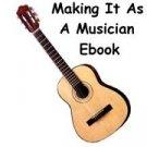 Making It As A Musician Ebook/Audio