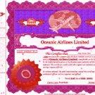 Rare original RED certificate