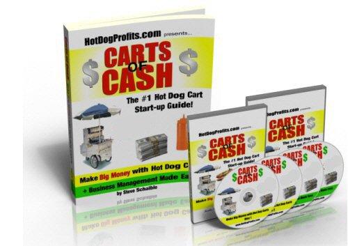 """# 1 Hot Dog Cart Book """"Carts of Cash with Bonus CDs"""