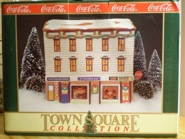 Coca-Cola Town Square Dick's Corner Luncheonette 1992