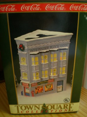 Coca-Cola Town Square Collection Candler's Drugs 1992