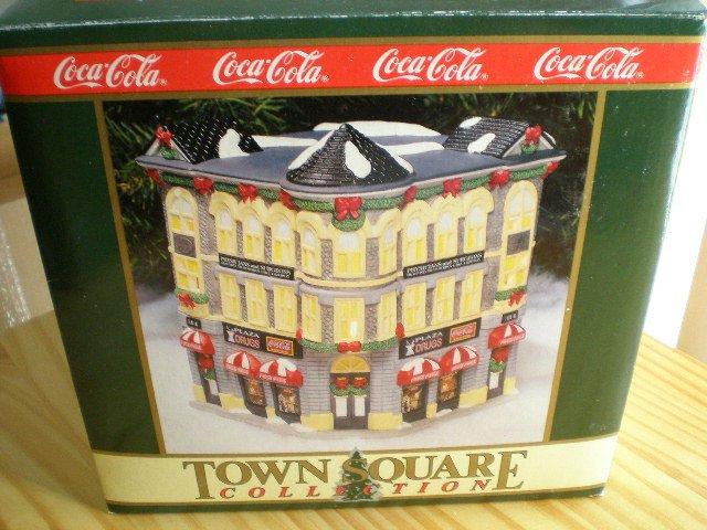 Coca-Cola Town Square Collection Plaza Drugs 1994