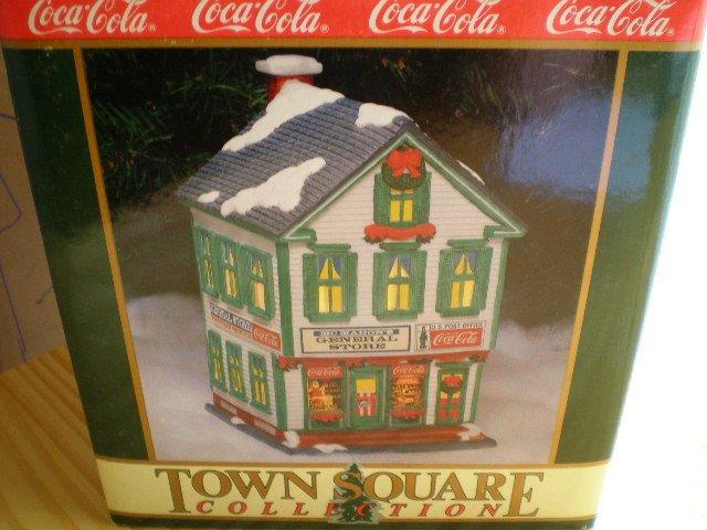 Coca-Cola Town Square Collection McMahon's General Store 1994
