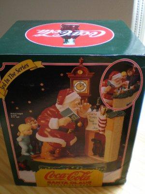 Coca-Cola Santa Claus Mechanical Bank #3 in the Series 1995