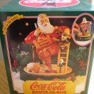 Coca-Cola Santa Claus Mechanical Bank #2 in the Series 1994