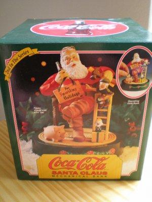 Coca-Cola Santa Claus Mechanical Bank #2 in the Series 1994