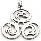 Cerrunos Celtic Sterling Silver Necklace