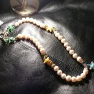 Pearls & Enamel Summer Necklace