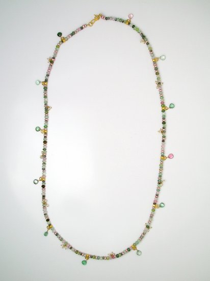 "26"" Pale Tourmaline Necklace"