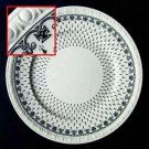 Spode Ermine Black Dinner Plates
