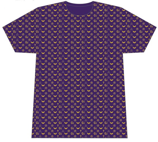 Cicada Nation - Vuitton All Over Print T Shirt Large #CNTVUSBL